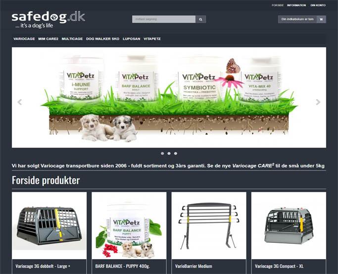 Safedog - hundebure - hundefoder mm
