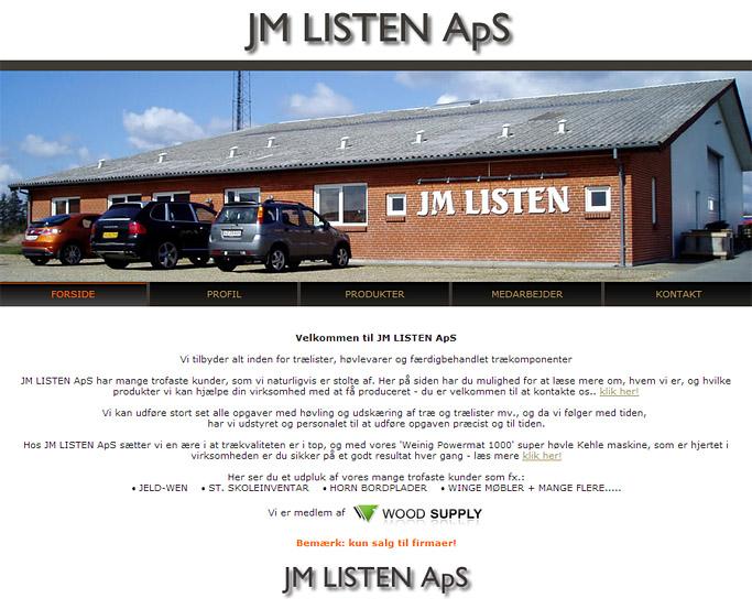 jm-listen - listefabrik herning hjemmeside