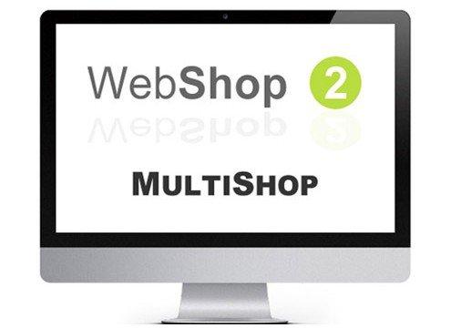 webshop2 multishop