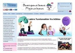 Drengeunivers Webshop 2