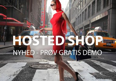 Hosted Shop - Nyhed gratis demoshop