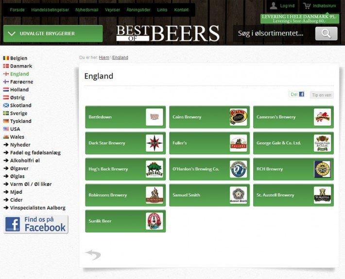 best of beers webshop kategori