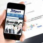 mobil venlig hjemmeside