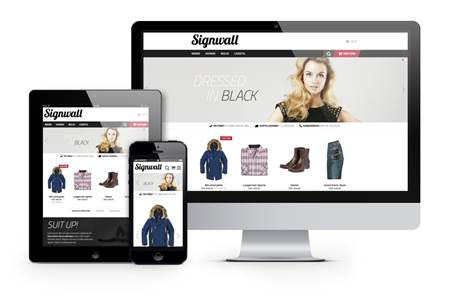 Responsive layout webshop2