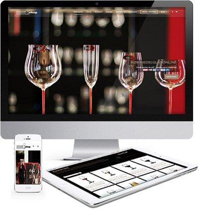 Riedshop hjemmeside responsive webdesign 2