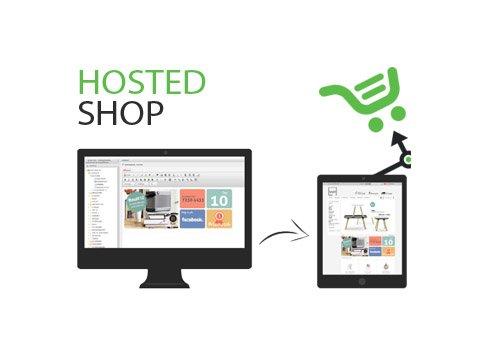 Hosted webshop