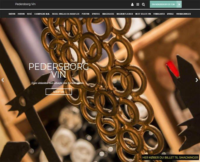 pedersborgvin - vinhandler - køb vine, spiritus, chokolade og smagninger