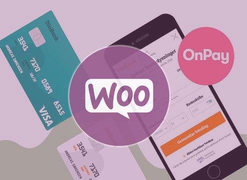 OnPay til Woocommerce webshop løsning