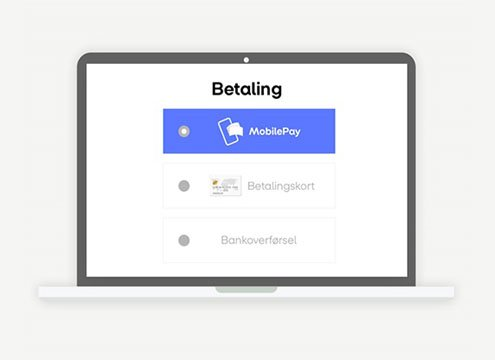 onpay mobilepay checkout betaling